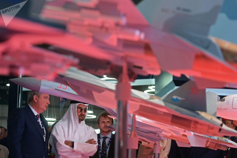 2017年迪拜航展俄罗斯展台