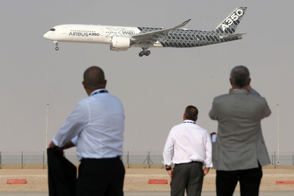 空客A350飞机