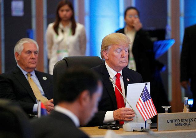 特朗普向中国和东盟关系放空炮