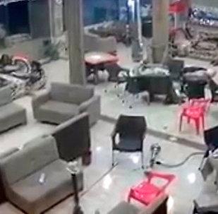 伊朗和伊拉克邊境發生7.2級地震