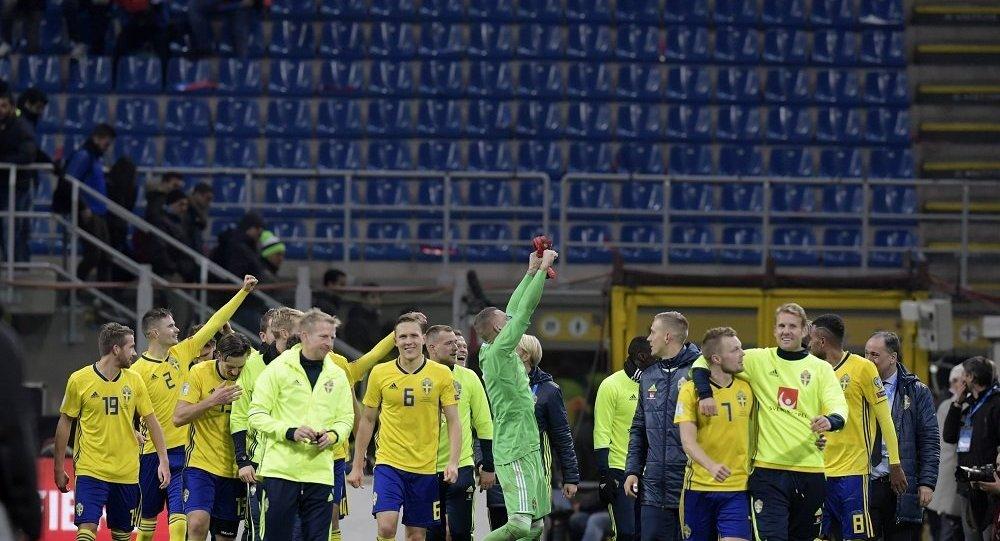 瑞典逼平意大利晋级2018世界杯