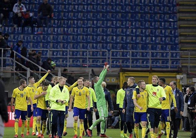 瑞典逼平意大利晉級2018世界杯