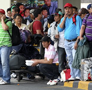 媒体:菲律宾临时禁止国民赴海外务工