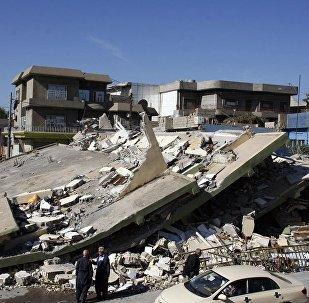 伊拉克与伊朗边境震区