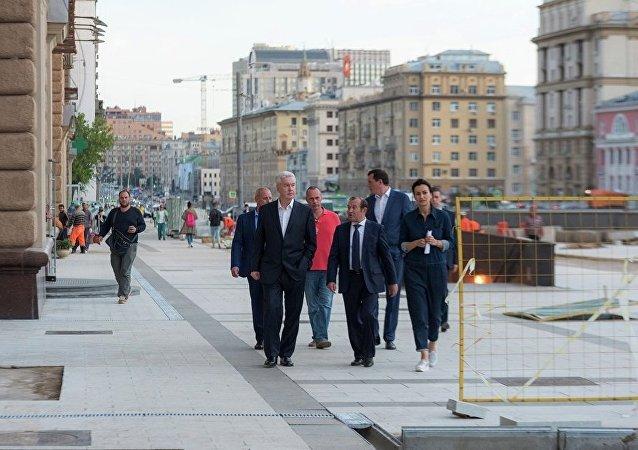 莫斯科市長:首都歷史中心修繕工作基本結束