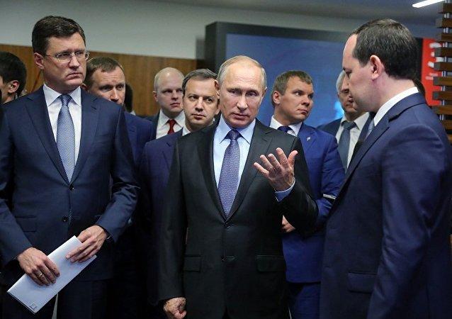 俄能源部长:普京主持会议期间决定落实热力发电厂技术改造项目