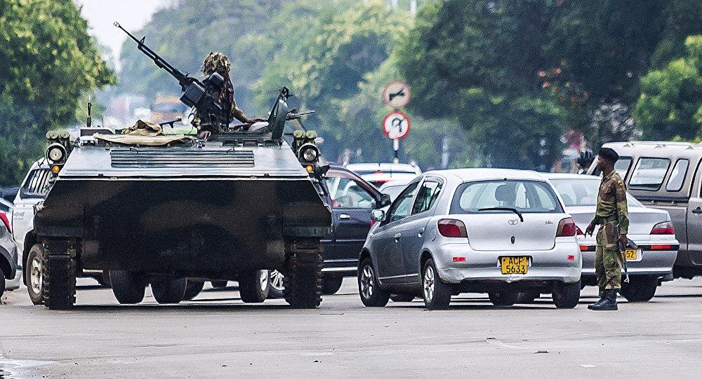 津巴布韋軍方