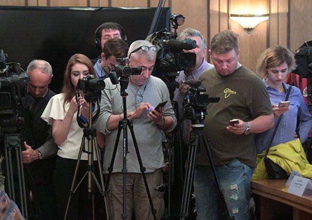 俄国家杜马支持媒体-外国代理人法修正案