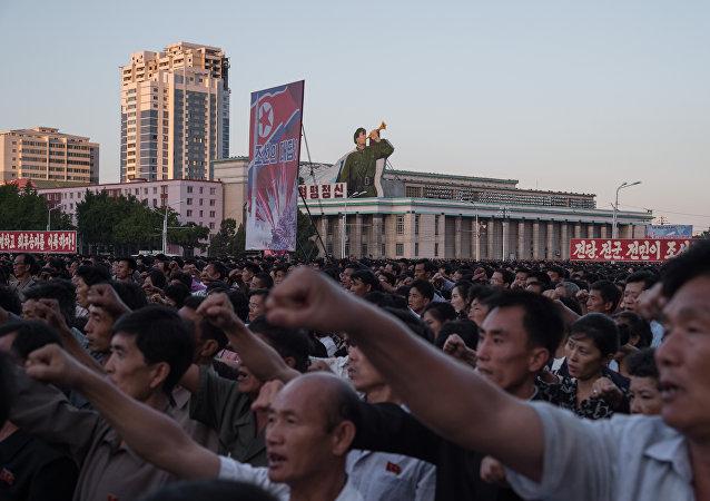 韩国情报部门:朝鲜政府因国际制裁努力控制国内社会舆论