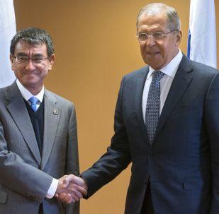 日本外相訪俄期間擬與俄外長討論朝鮮問題