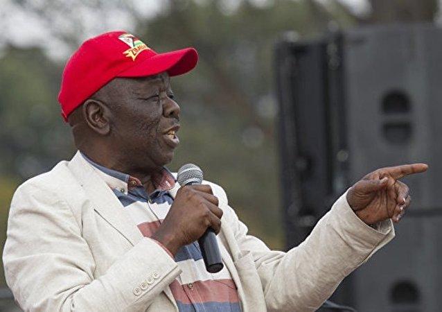 津巴布韦前总理和反对党领袖回国