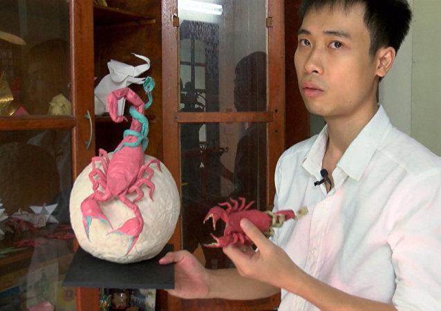越南折纸大师