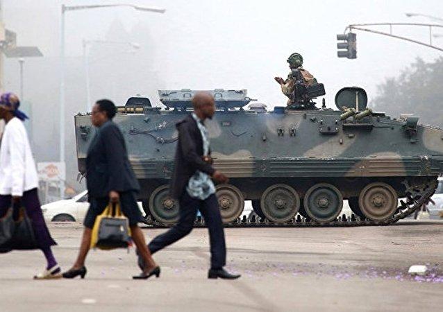 津巴布韦前副总统或将领导成立过渡政府
