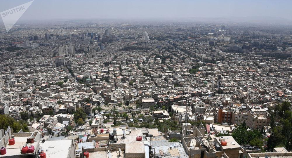 """叙利亚军人阻止 """"圣战车""""在大马士革省的袭击"""