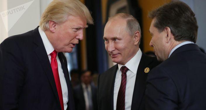 特朗普认为或可与普京建立良好关系