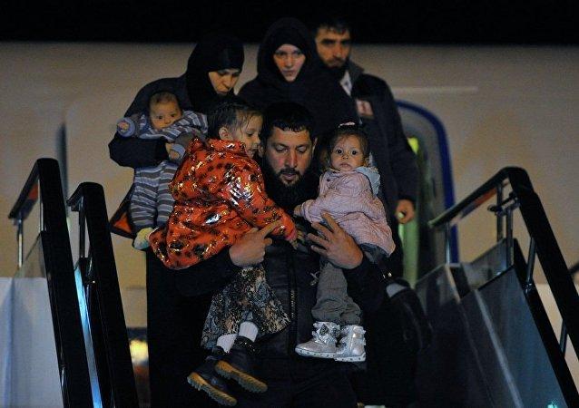 俄国防部:逾40名俄罗斯儿童于一个半月内从叙回国