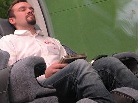 """德国公司展示""""未来火车"""""""