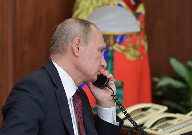 外媒:俄美总统讨论多国热点问题
