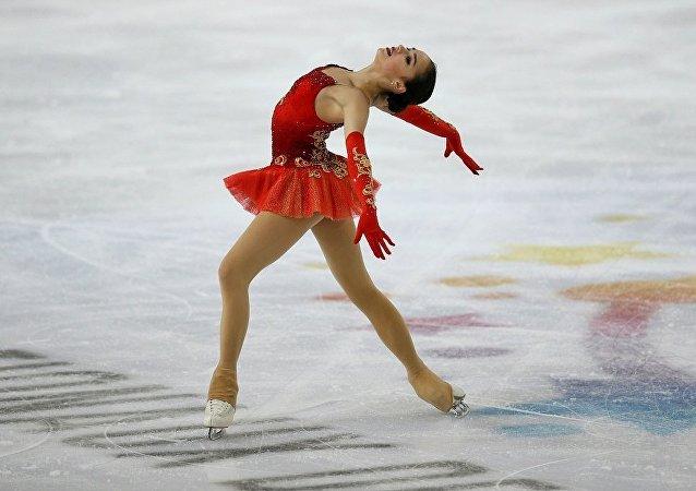 俄罗斯花样滑冰运动员扎吉托娃