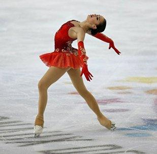 俄羅斯花樣滑冰運動員阿麗娜•扎吉托娃