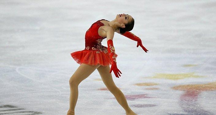 俄罗斯花样滑冰运动员阿丽娜•扎吉托娃