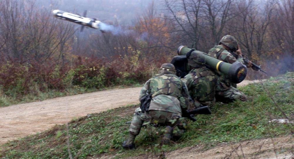 """""""标枪"""" (Javelin) 反坦克导弹系统"""
