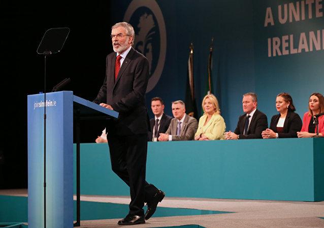 爱尔兰民族主义领袖亚当斯