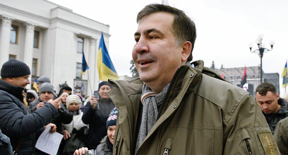 """米哈伊尔•萨卡什维利宣布乌克兰将面临""""未知时刻""""的日期"""