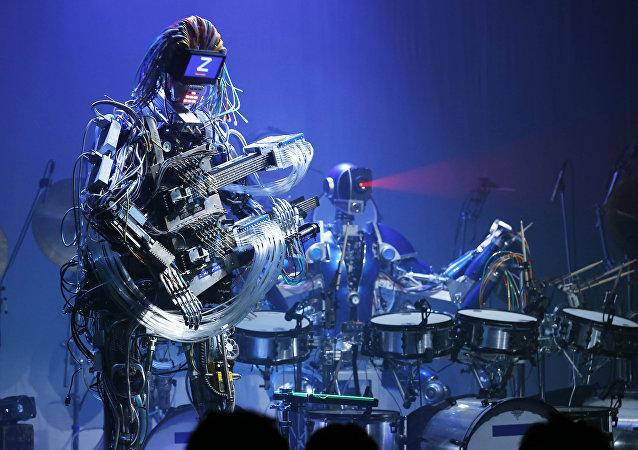 日本Z-Machines機器人樂隊
