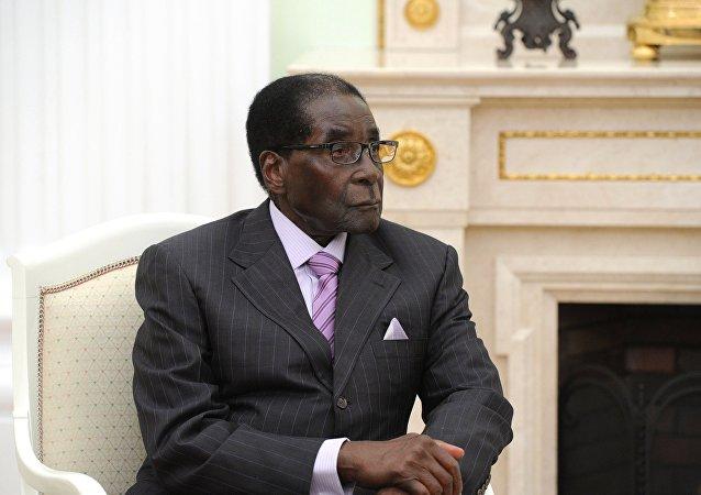 津巴布韦前总统穆加贝
