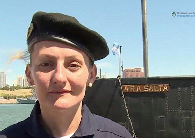 阿根廷失踪潜艇上有一名女军官