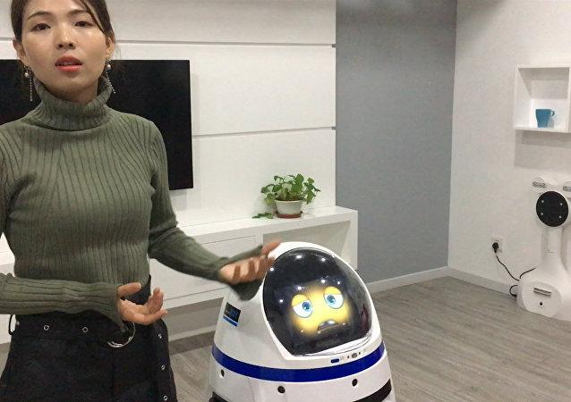 中國機器人很快便可取代服務人員