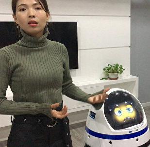 中国机器人很快便可取代服务人员