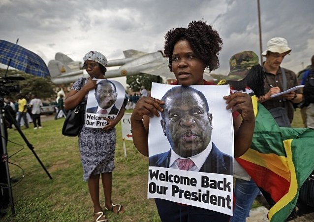 新总统姆南加古瓦