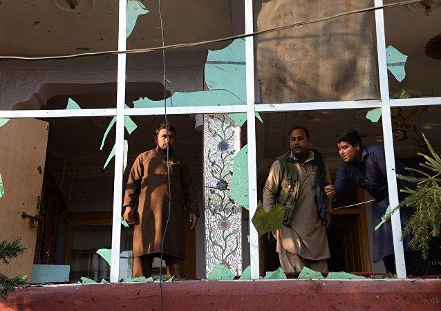 """媒体:""""伊斯兰国""""声称为阿富汗爆炸事件负责"""