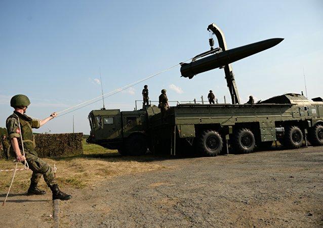 """俄未进行过美方指责的""""伊斯坎德尔-M""""导弹试验"""