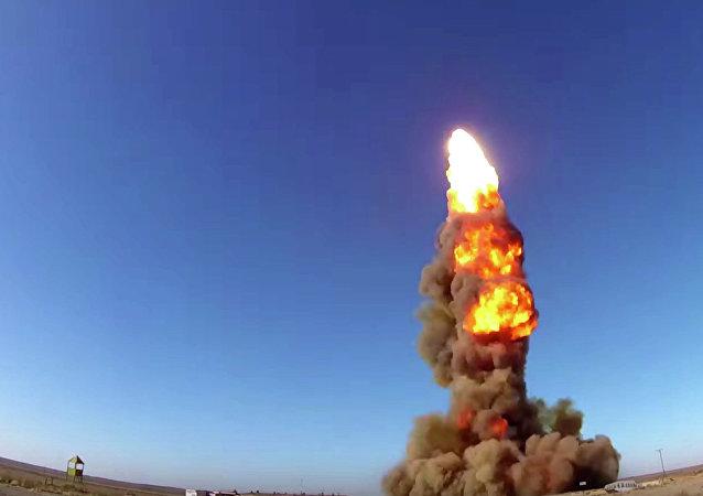 俄罗斯在哈萨克斯坦试验新型拦截弹