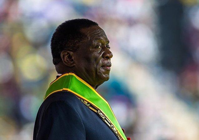 津巴布韦新总统姆南加古瓦