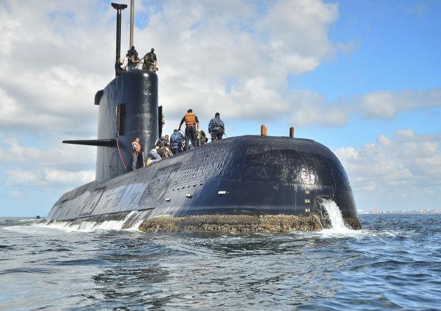 """阿根廷潜水艇""""圣胡安号"""""""