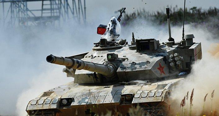 媒体:中国军方在吉布提进行坦克实战演练