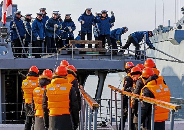 俄日海军举行了Sareks-2017演习
