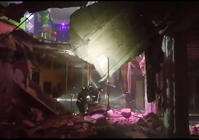 西班牙夜店地板塌陷造成22人受伤