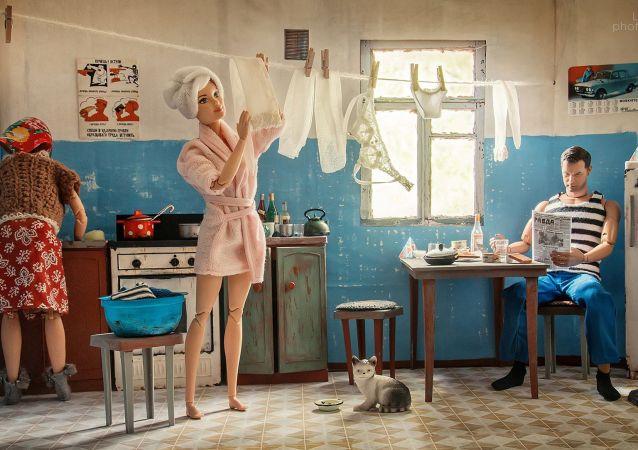如果芭比娃娃生活在苏联