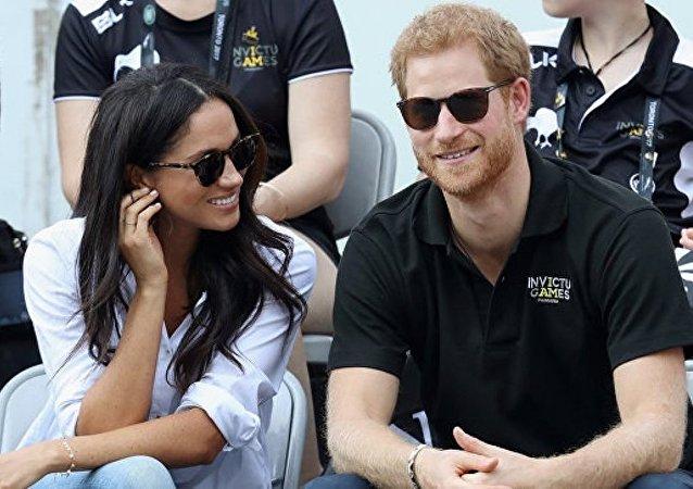 英国的哈里王子与美国女星梅根·马克尔将在5月19日结婚