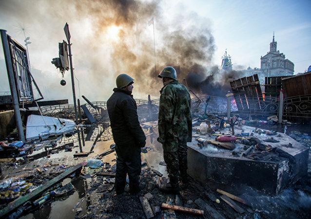 流血和谎言:乌克兰新政权的诞生