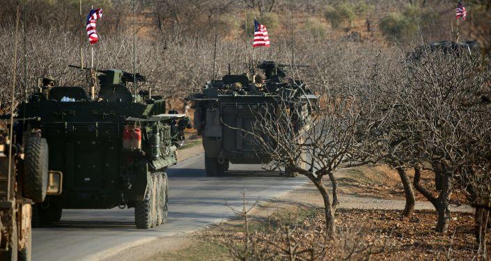 美国军官在叙利亚