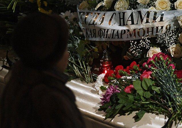 莫斯科舉辦霍洛斯托夫斯基的告別儀式
