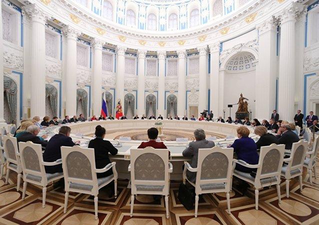 俄罗斯国家儿童权益战略行动协调委员会会议