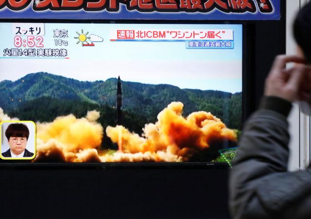 """俄杜马议员:朝鲜称其可以用""""自己的弹头""""打到美国任何一点"""
