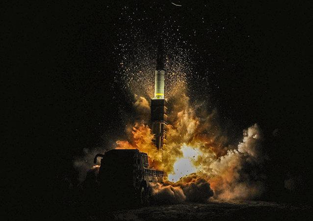 韩国进行新弹道导弹试验